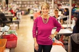 Brandi Temple, Nhà sáng lập kiêm giám đốc điều hành của Lolly Wolly Doodle. Ảnh: website của lollywolydoodle