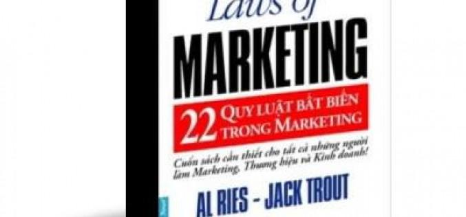 [Ebook] 22 Quy luật bất biến của Marketing