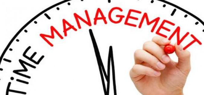Một số kỹ năng giúp quản lý thời gian hiệu quả