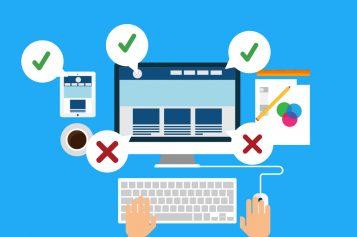 Bốn lỗi thường gặp khi thiết kế website